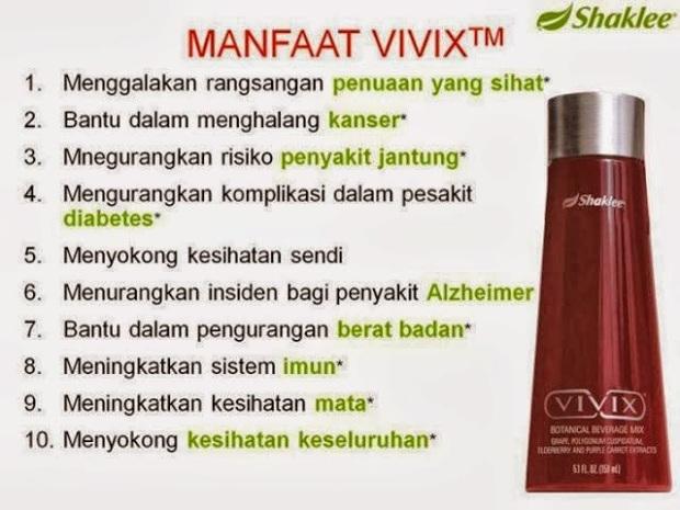 Manfaat vivix cegah kencing manis diabetes